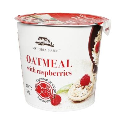 Victoria Farm Oatmeal With Raspberries 38g