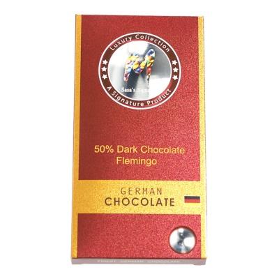 Sasa 50% Dark Chocolate(Flemingo) 100g