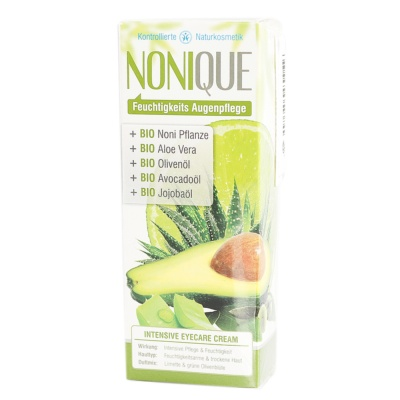 Nonique Intensive Moisturizing Eyecare Cream(Fresh lemon & Green Olive Flower) 15ml