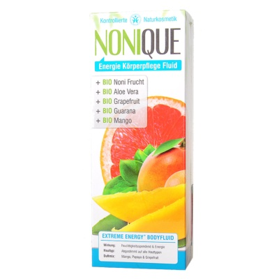 Nonique Extreme Energy Body Fluid Mango Papaya & Grapefruit 200ml
