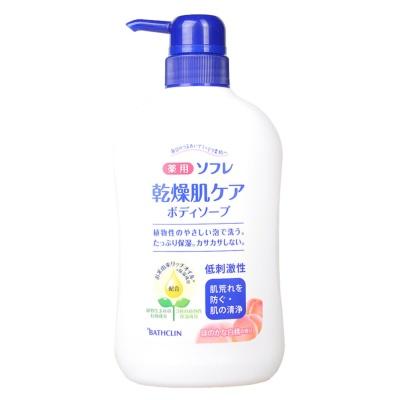 Bathclin Herbal Body Wash(White Peach Flavor) 550ml