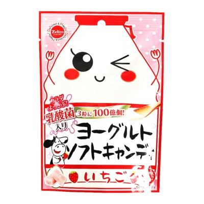 Zelico Strawberry Flavor Yogurt Soft Candy 38g
