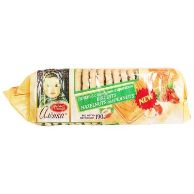 Alionka Hazelnuts and Peanuts Biscuits 190g