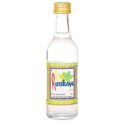 Russkaya Vodka Mint 50ml