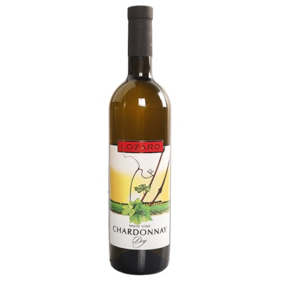 Lozaro Chardonnay Dry White Wine 750ml