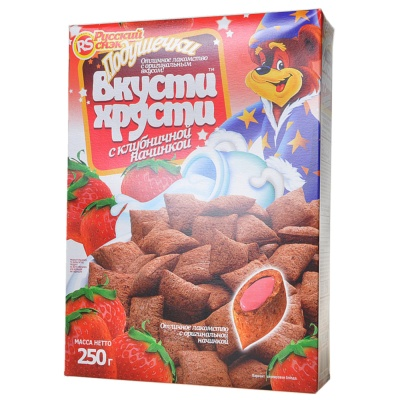 Russia Bkycmu Xpycmu (Strawberry) 250g