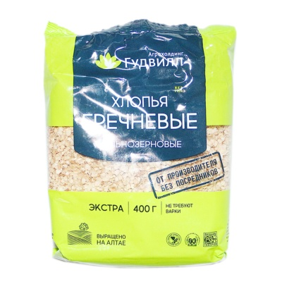 Valley Deville Instant Buckwheat Flakes 400g