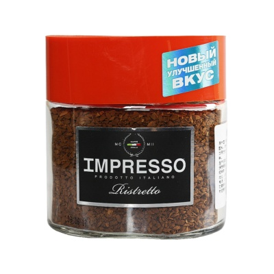 Impresso Bleed Of Freeze Dried Instant Coffee 100g