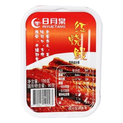 日月棠红烧鳗鱼罐头 100g