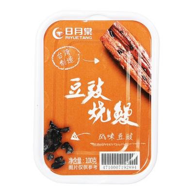日月棠豆豉红烧鳗鱼罐头 100g