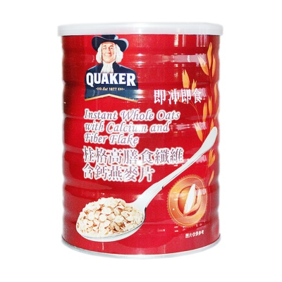 Quaker Instant Whole Oats With Calcium And Fiber Flake 700g