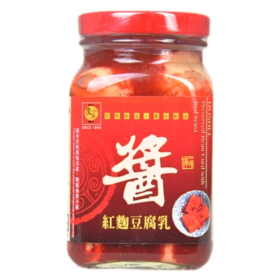 Doshee Preserved Bean Curd With Red Yeast 300g