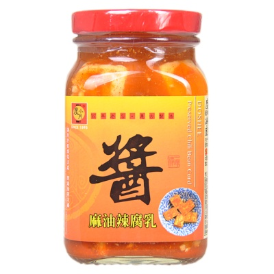 Doshee Preserved Chili Bean Curd 300g