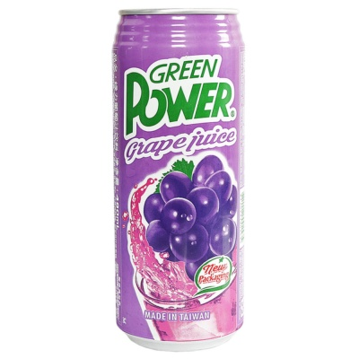 Green Power Grape Juice 490ml