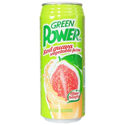 Green Power Red Guava Vegetable Juice 480ml