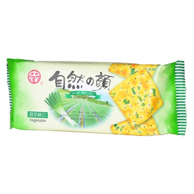 Natural Series Vegetable Soda Crackers 140g