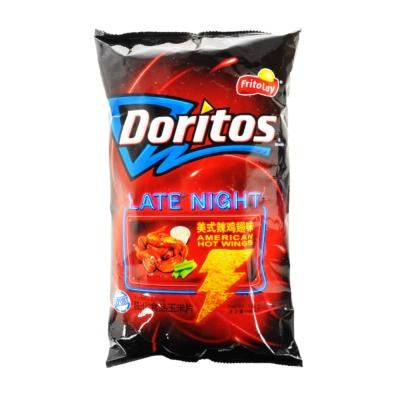 Doritos American Hot Wings Tortilla Chips 198.4g