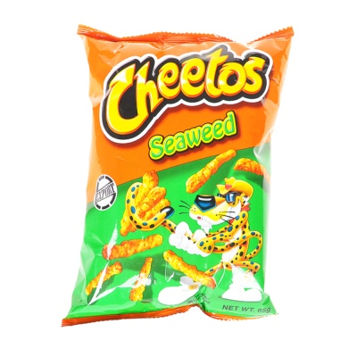 Cheetos Seaweed Flavored Cruchy Snacks 65g