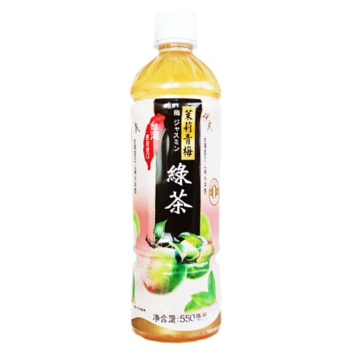 Yes Jasmine-flavored Green Tea Drink 550ml