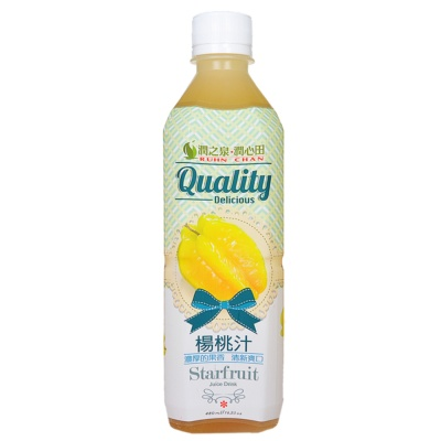Ruhn Chan Starfruit Juice Drink 480ml