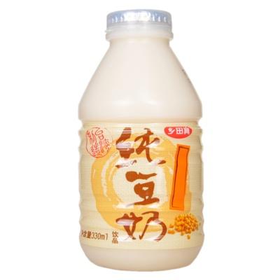台湾乡田真纯豆奶 330ml