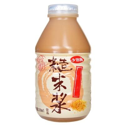 台湾乡田真糙米浆 330ml