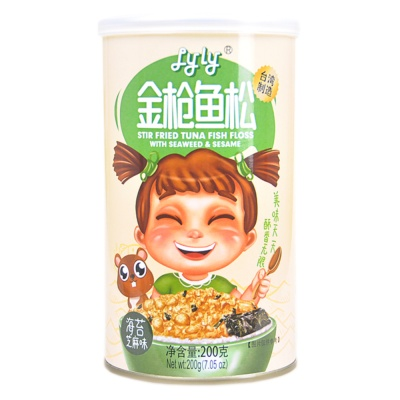 Lyly Stir Fried Tuna Fish Floss With Seaweed & Sesame 200g
