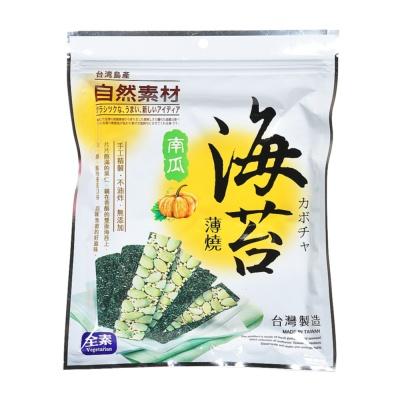 Natural Material Seaweed Pumpkin Crisps 40g