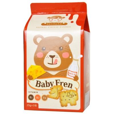 Baby Fren Vitamin B1 B2 Fe Animal Cheese Cookie 75g