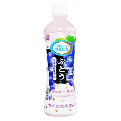Calpis Grape Lactic Acid Bacteria Drink 500ml