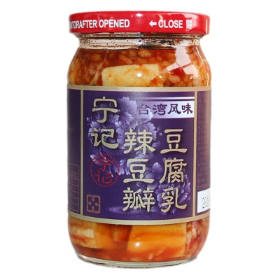 Ning Chi Bean Curd With Spicy Bean Sauce 350g