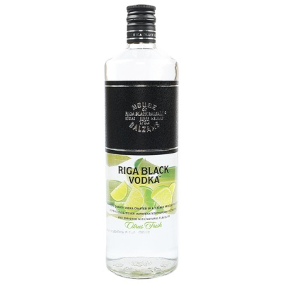 Riga Black Citrus Fresh Flavored Vodka 700ml