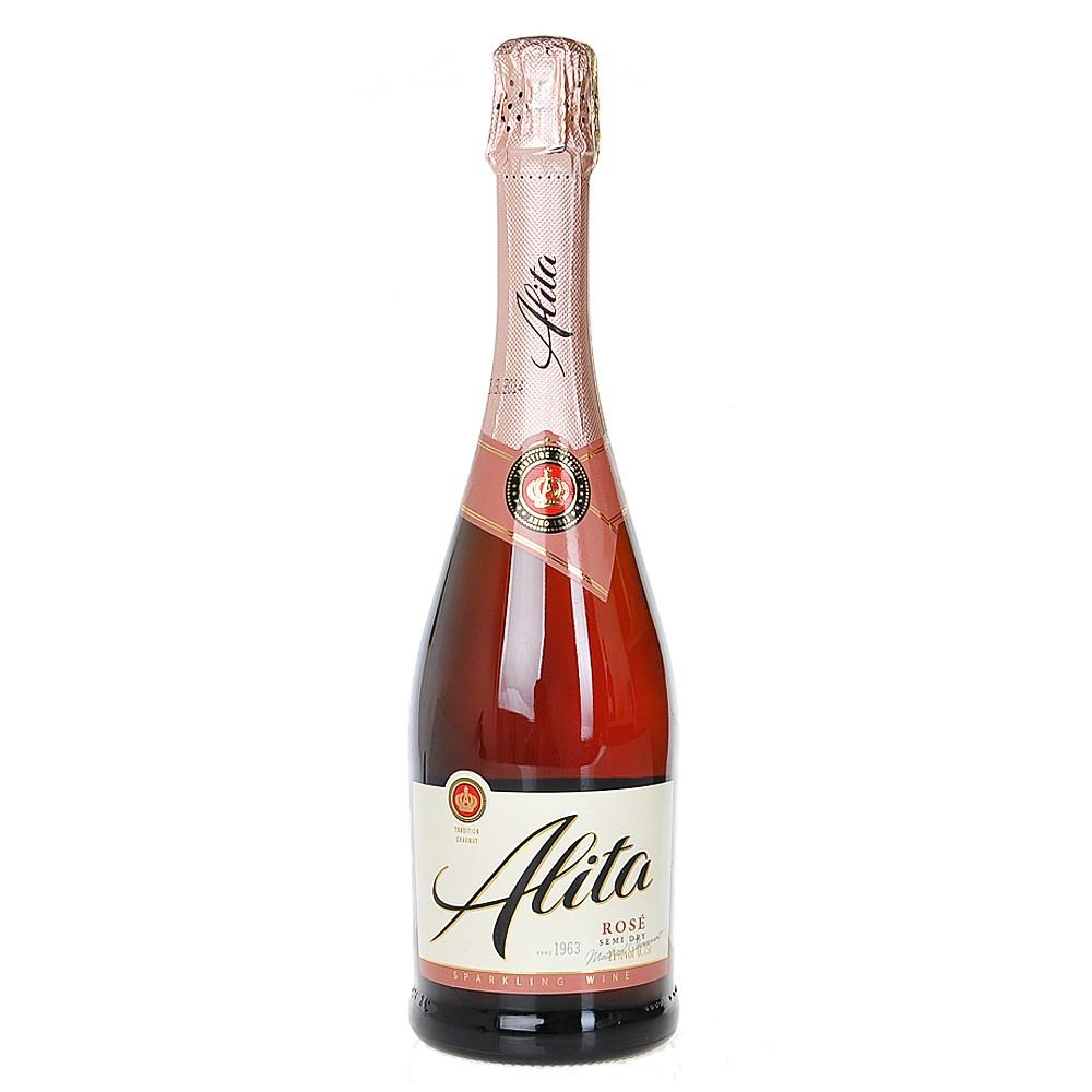 Alita Rose Semi Dry Sparkling Wine 750ml