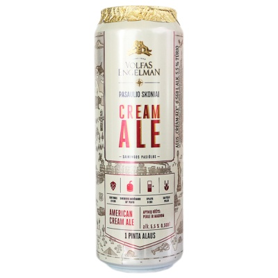 Volfas Engelman Cream Ale 568ml