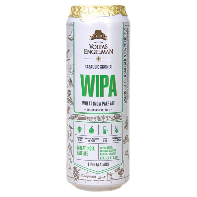 Volfas Engelman Wheat India Pale Ale 568ml