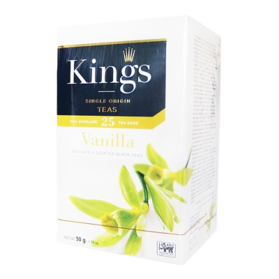 King's Vanilla Black Teas 50g