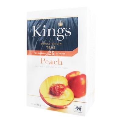 King's Peach Black Teas 50g