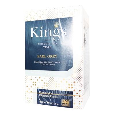 King's Earl Grey Black Teas 50g