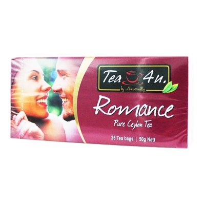TEA4U Romance Pure Ceylon Tea 25*2g