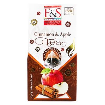Fineness & Selection Cinnamon & Apple Tea 30g
