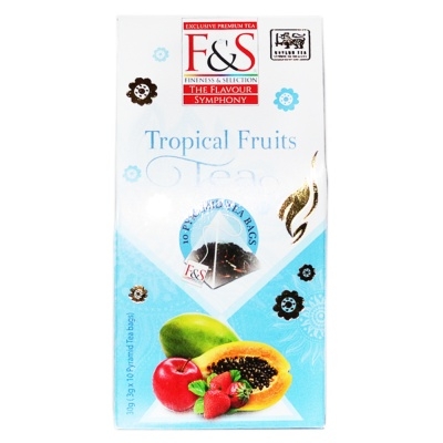 F&S Tropical Fruits Tea 30g