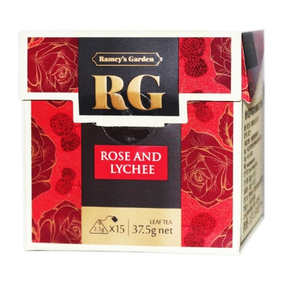 Ramey's Garden Rose And Lychee Leaf Tea 37.5g