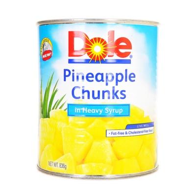 Dole Pineapple Chunks 836g