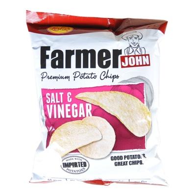 Leslie's Potato Chips (Salt & Vinegar) 55g