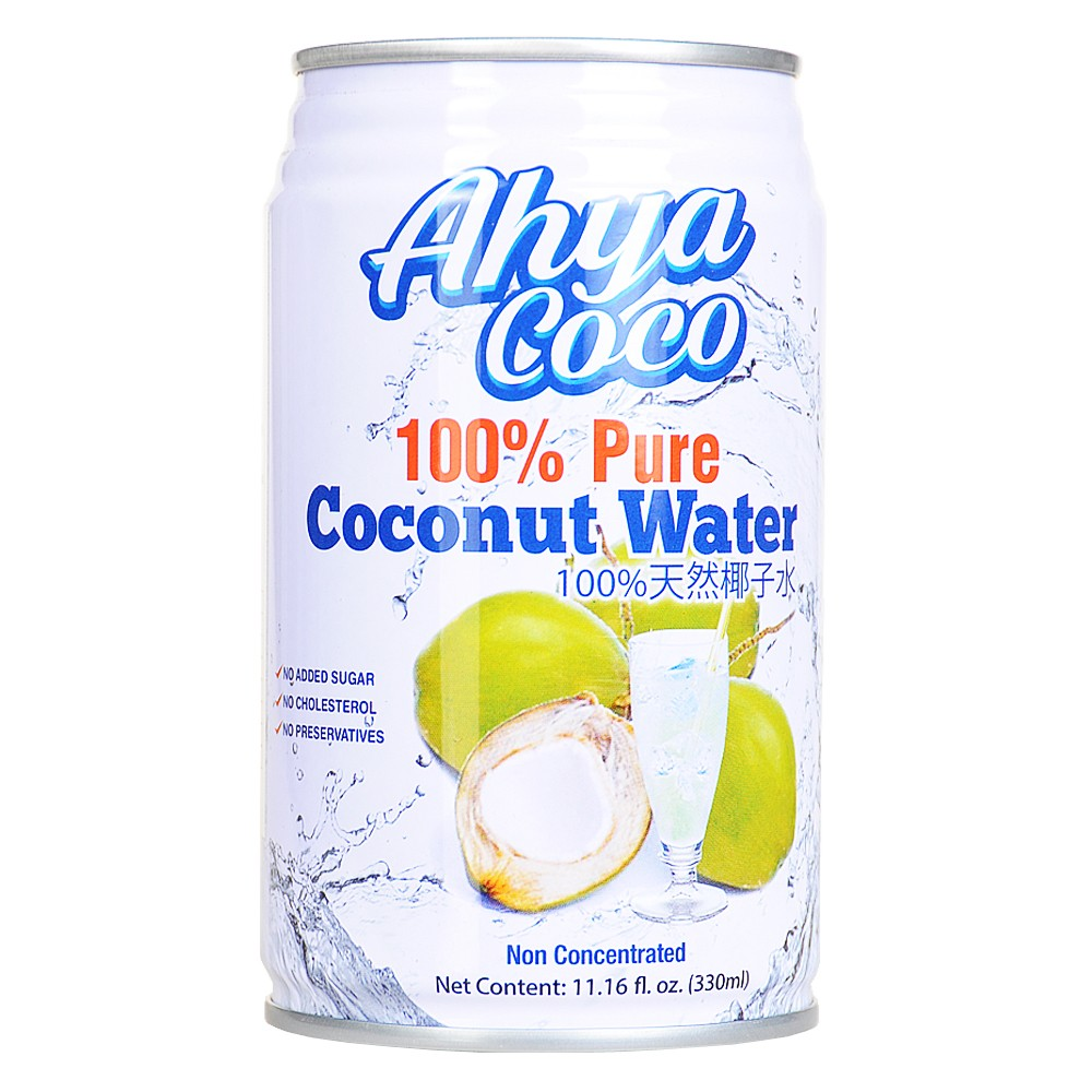 Ahya 100% Pure Coconut Water 330ml