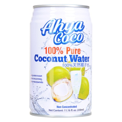 Ahya 100% Pure Coconut Water 330ml