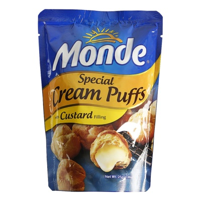 Monde Special Cream Puffs (Custard) 25g