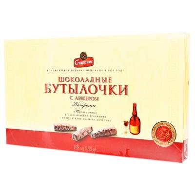 Alunka Spartak Liqueur Sandwich Chocolate 168g