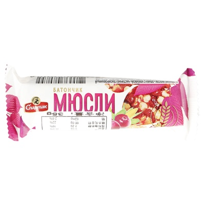 Alunka Spartak Preserved Fruits Cereal With Cranberry 35g