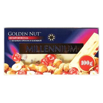 Lubimov Nut White Chocolate 100g